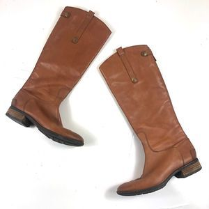 Sam Edelman Penny Leather Riding Boot Size 7.5